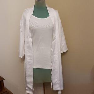 Gilligan & O'Malley Intimates & Sleepwear - Gilligan & O'Malley Bride Robe